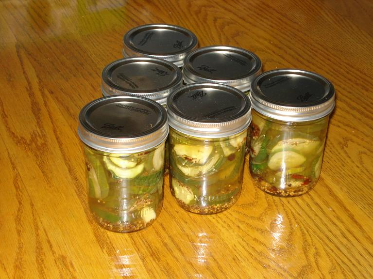 Refigerator Pickles
