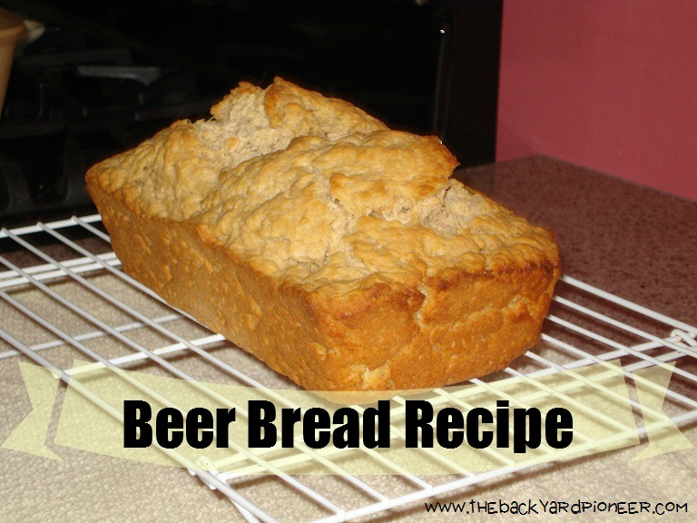 Beer Bread is Quick, Easy, and Delicious.