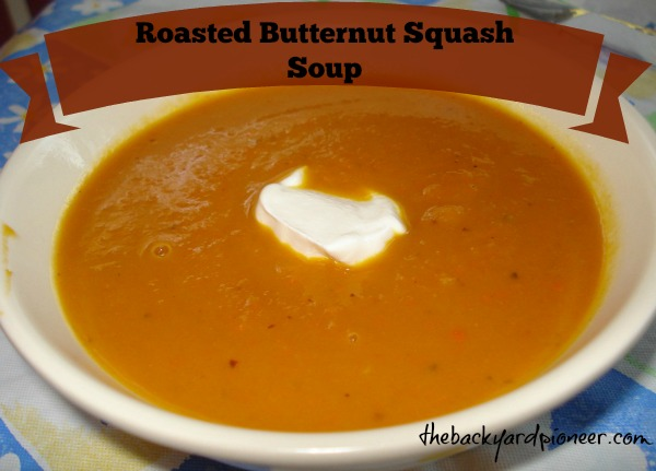 how to cut up butternut squash for soup