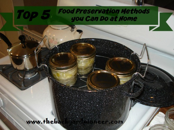 Food Preservation Methods you Can Do at Home