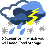 Six Scenarios in Which You Will Need Food Storage: A Guest Post