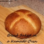 Bread Baked in a Kamado Oven