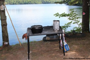 Camp Chef 38 Quot Dutch Oven Camp Table A Gear Review