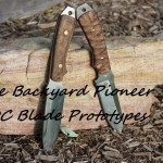 The Backyard Pioneer / Arcadia Knives EDC Blade Prototypes are here!