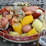 Easy Clam and Shrimp Boil