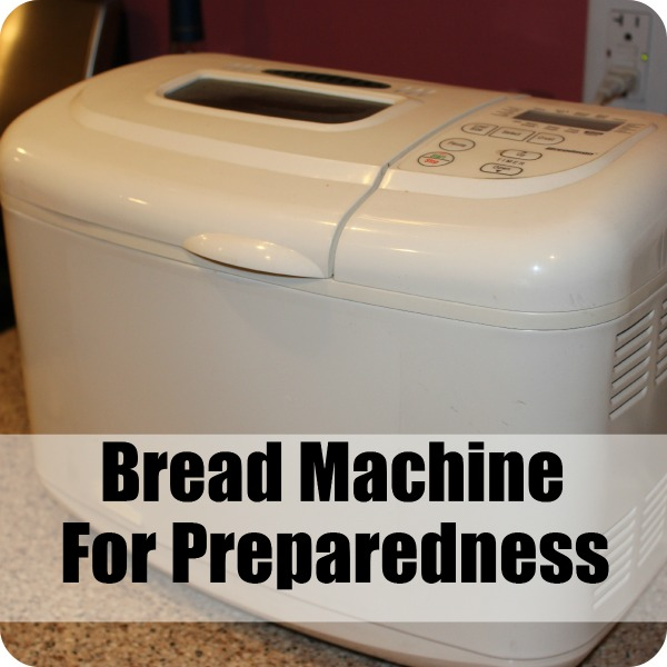 Bread Machine For Preparedness