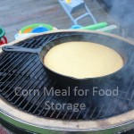 Cornmeal, food storage