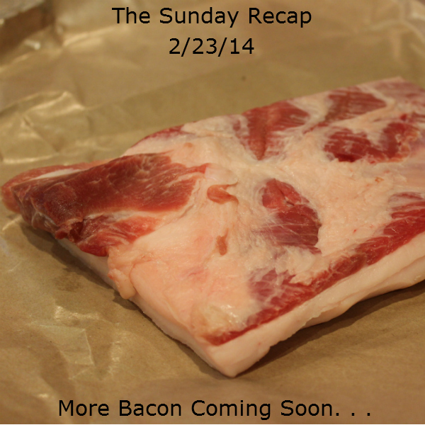 The Sunday Recap