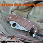 EDC Knife: What is right for you?