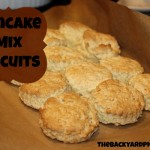 Make Biscuits with Pancake Mix