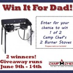 Father's Day Camp Chef Giveaway!