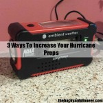 3 Pieces Of Gear To Add To Your Hurricane Preps