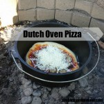 Dutch Oven Pizza Is Easy And Fun!
