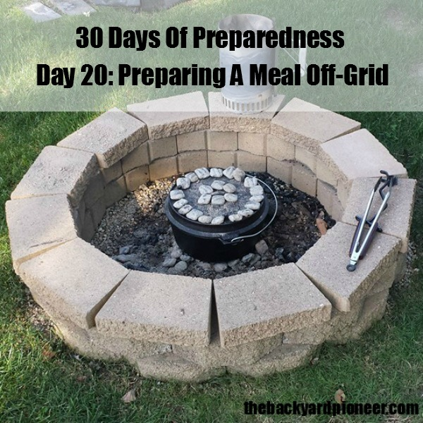Off Grid Oven ~ Dutch oven cooking off grid before was cool
