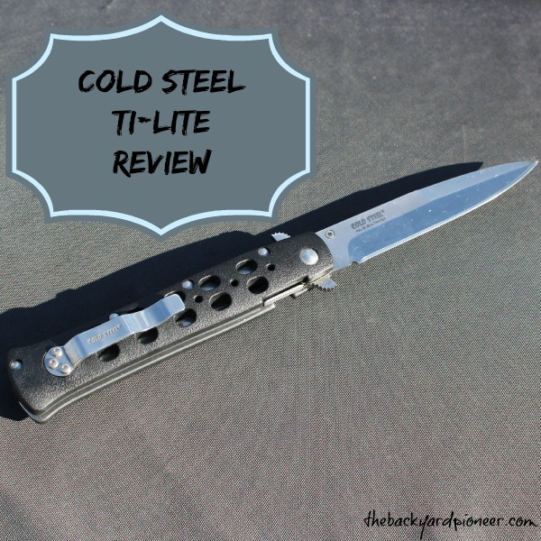 Cold Steel Ti Lite