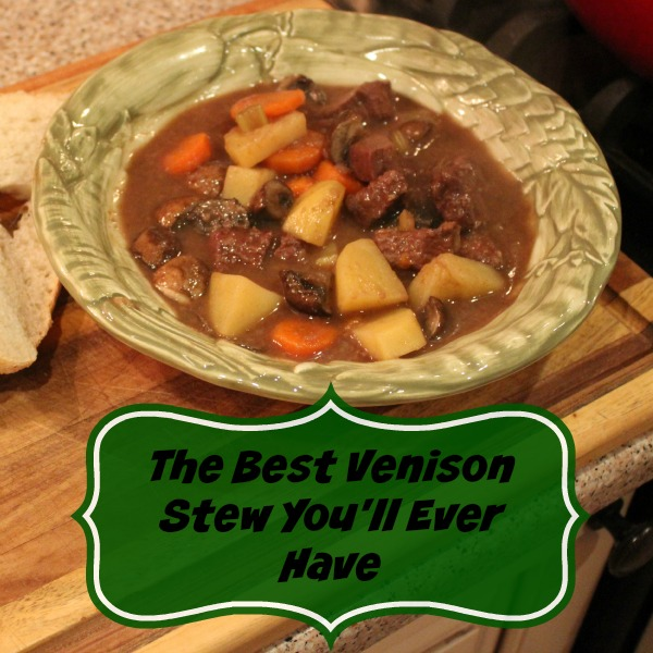 Venison Stew Dutch Oven