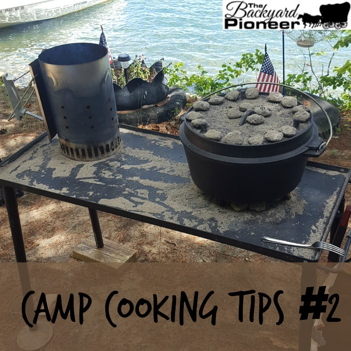 Camp Cooking Tips