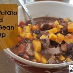 Sweet Potato and Black Bean Stoup