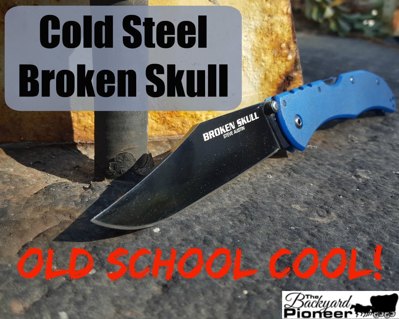 Cold Steel Broken Skull